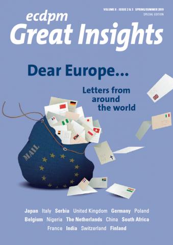 Dear Europe    Letter from Italy | IAI Istituto Affari Internazionali