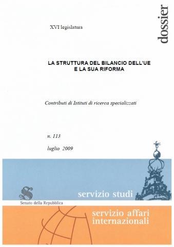 La struttura del bilancio dell 39 ue e la sua riforma iai for Struttura politica italiana